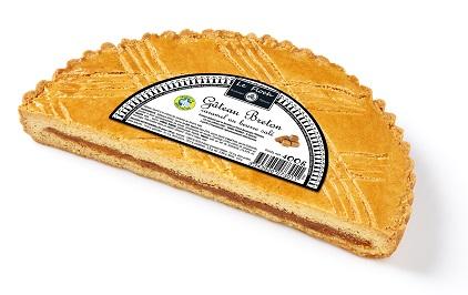 Gâteau Breton 1/2 Caramel beurre salé 400g Le Floch Boulanger Pâtissier