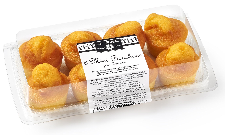 8 Mini bouchons pur beurre 200g