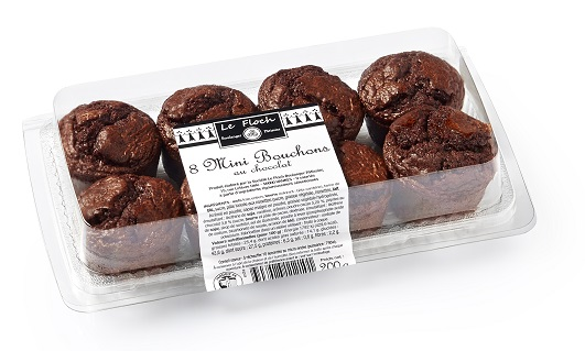 8 mini bouchons chocolat 200g