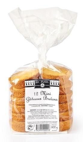 12 Mini Gâteaux Bretons Le Floch Boulanger Pâtissier